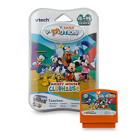 V-Tech® V.Smile® Smartridge Cartridge in Mickey Mouse Clubhouse