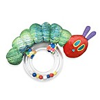 Eric Carle Very Hungry Caterpillar Ring Rattle