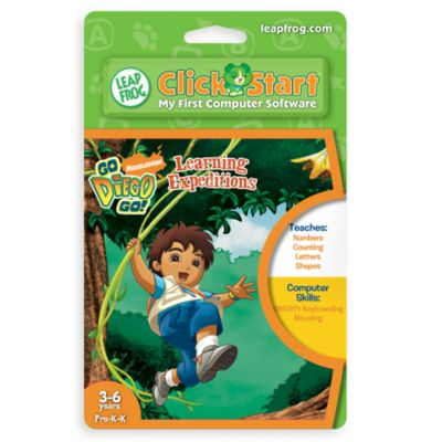 LeapFrog® ClickStart™ Go Diego Go!™ Learning Expeditions - from Leap Frog