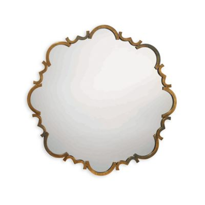 Jamie Young 38-Inch Saint Albans Mirror in Antique Gold