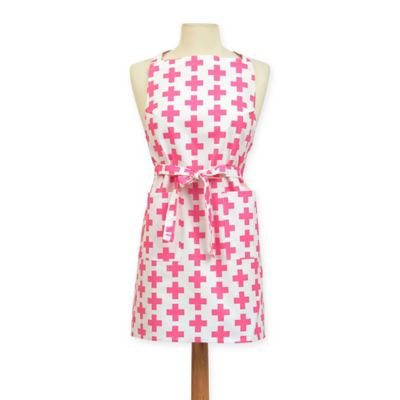Add Bib Apron in Pink