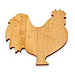 J.K. Adams Co. Novelty Rooster Cutting Board