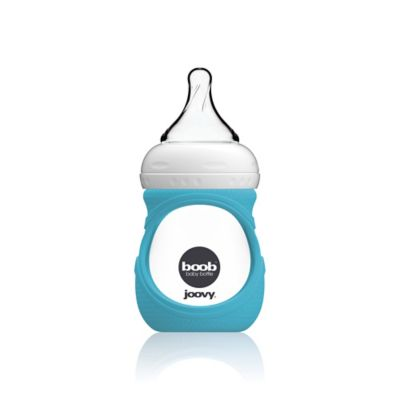 Joovy® Boob™ 5 fl. oz. Glass Bottle With Sleeve in Turquoise
