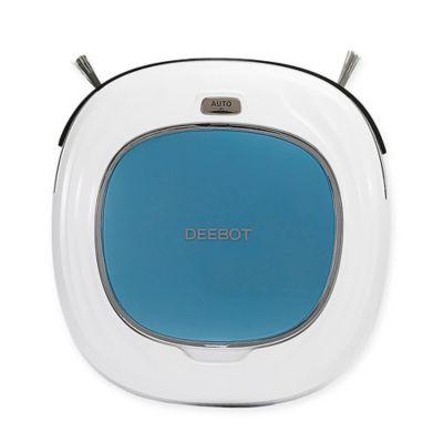 Ecovacs® Deebot™ D45 Automatic Vacuum Cleaning Robot in White