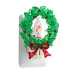 Lights in the Night™ 5-Inch Wreath Night Light