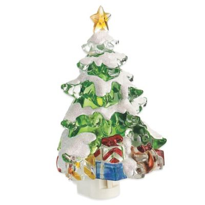 "Lights in the Night™ 7"" Christmas Tree Nite Lite"