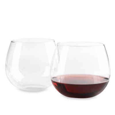Wine Enthusiast U Tumblers 20-Ounce Cabernet (Set of 2)