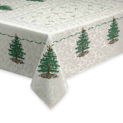 Spode® Christmas Tree 70-Inch Round Tablecloth