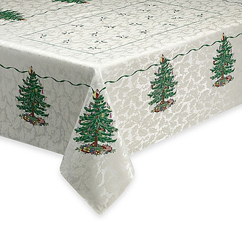 Spode 174 Christmas Tree Tablecloth Www Bedbathandbeyond Com