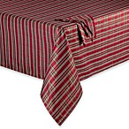 Christmas Plaid Tablecloth and Napkin