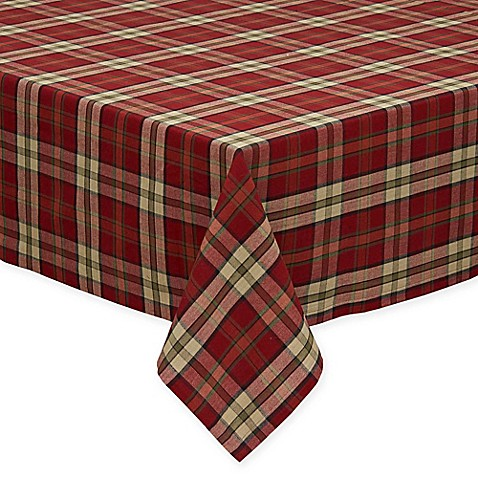 Buy Campfire Plaid 60 Inch X 84 Inch Oblong Tablecloth