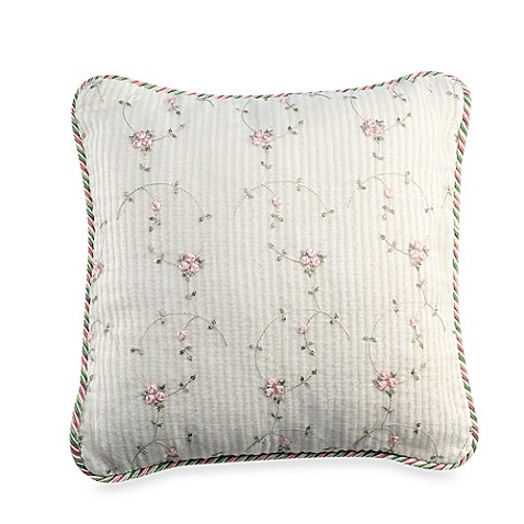 Glenna Jean Isabella Rosebud Throw Pillow