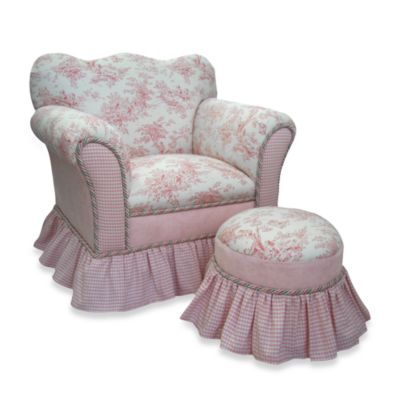 Isabella Chair and Tuffet Set