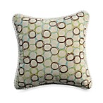 Spa Cream Circle Pillow