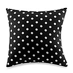 Glenna Jean McKenzie Black Polka Dot Pillow