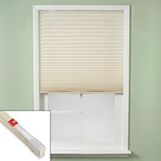 Redi Shade® Easy Touch® Pleated Window Shade in Ivory