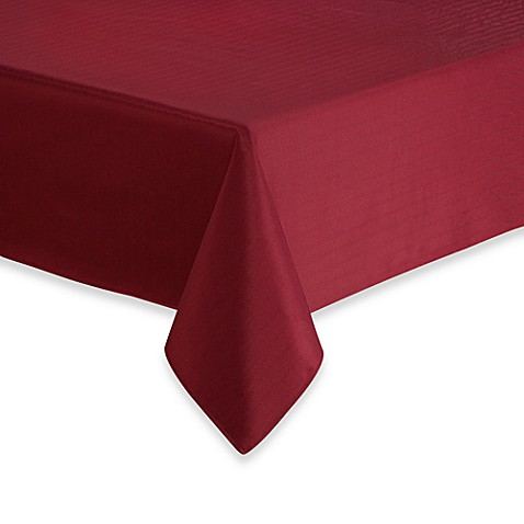 Windsor Stain Resistant Tablecloth and Napkin
