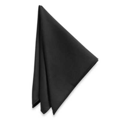 Windsor Napkins in Black (Set of 2)
