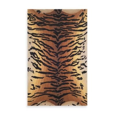 Tiger 5-Foot x 8-Foot Rug in Brown