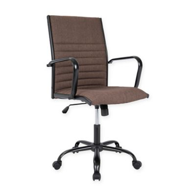 LumiSource Master Office Chair in Black/Brown