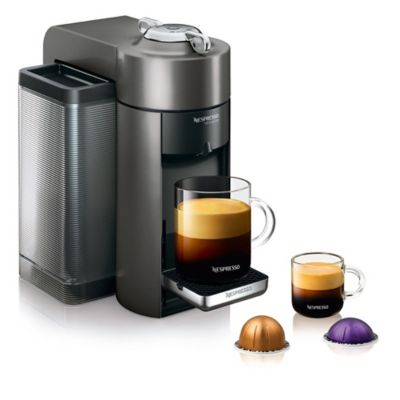 Nespresso VertuoLine Evoluo Coffee and Espresso Maker in Grey - Bed Bath & Beyond