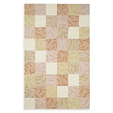 Box Vines Rug in Cream