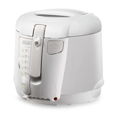 De'Longhi White Cool Touch Deep Fryer