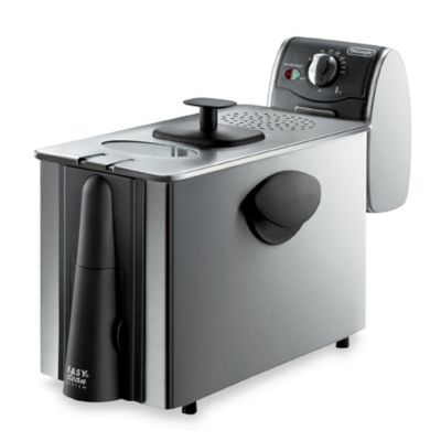 Delonghi® Dual Zone Stainless Steel Deep Fryer