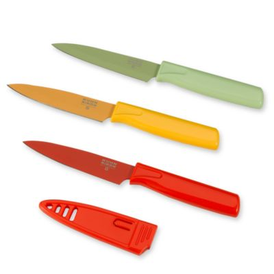 Kuhn Rikon Colori 8-Inch Paring Knife in Red
