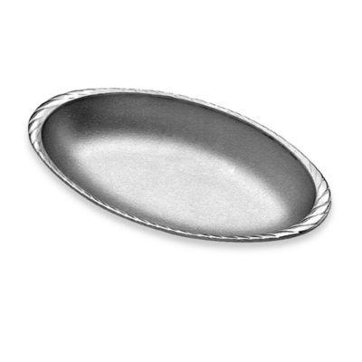 Wilton Armetale® Gourmet™ Grillware Medium Oval Au Gratin