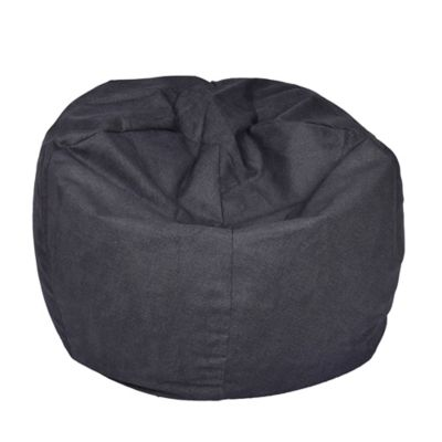 Buy Extra Bean Bag Chair in Brushed Denim Fog from