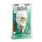 Feit Electric ecobulb® Energy Saving 100 W Fluorescent Dimmer Bulb