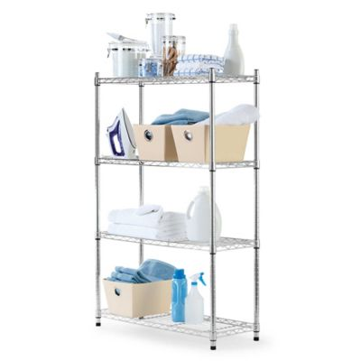 Black Shelving Units