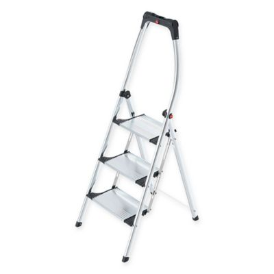 Buy Hailo Comfort 2 Step Aluminum Ladder From Bed Bath