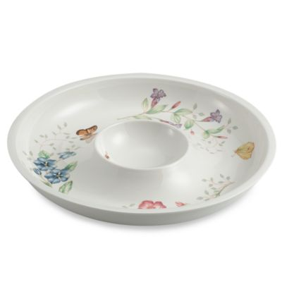 Lenox® Butterfly Meadow® 12-Inch Chip & Dip Server