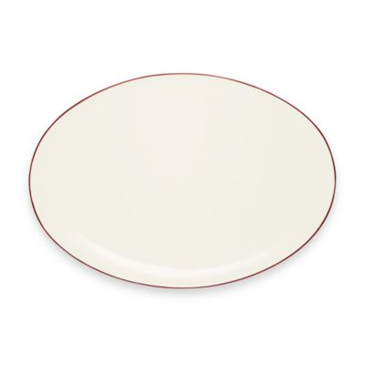 Noritake® Colorwave Oval Platter in Raspberry