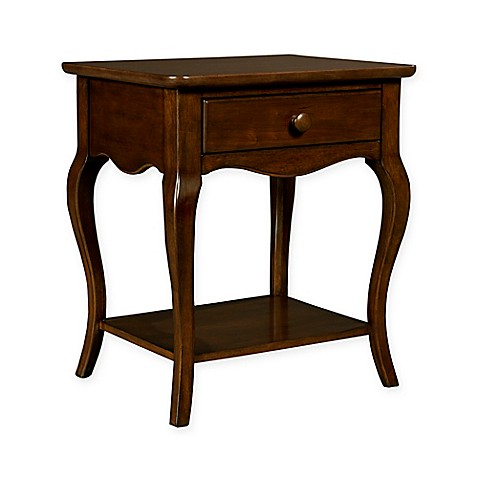 Buy Stone Leigh By Stanley Furniture Teaberry Lane Bedside Table In Midnight Cherry From Bed