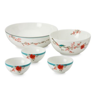 Simply Fine Lenox® Chirp Dish It Out! 5-Piece Bowl Set
