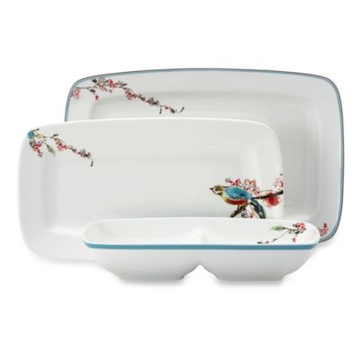 Simply Fine Lenox® Chirp Serve It Up! 3-Piece Server Set