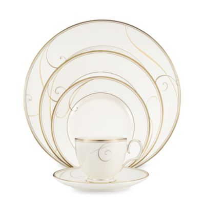 Golden Wave 5-Piece Place Setting