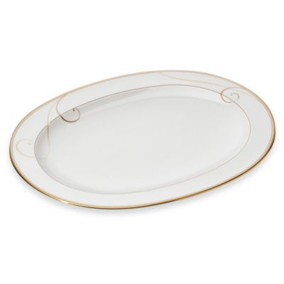 Golden Wave 14-Inch Oval Platter