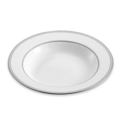 Mikasa® Riverside Park 9-Inch Rim Soup Bowl in Platinum