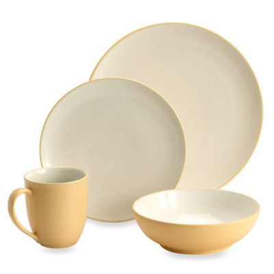 Noritake® Colorwave Mustard 4-Piece Place Setting