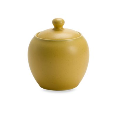 Noritake® Colorwave Covered Sugar Bowl in Mustard