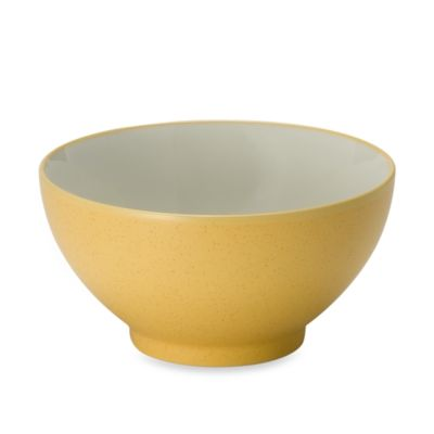 Noritake® Colorwave Mustard 6-Inch Rice Bowl