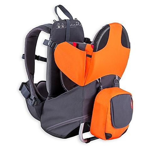 Phil Amp Teds 174 Parade Backpack Carrier In Orange Grey Buybuy