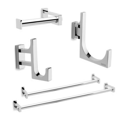 Frame Chrome Pivoting Towel Hook