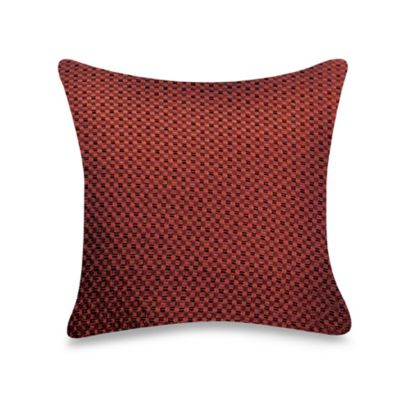 Claret Square Pillow