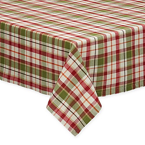 Pumpkin Patch Plaid Tablecloth Bed Bath Amp Beyond