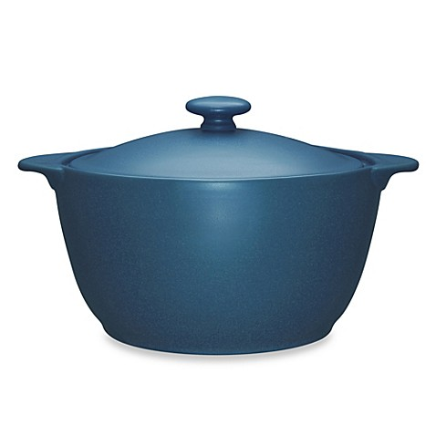 Noritake® Colorwave Blue 2-Quart Covered Casserole Dish